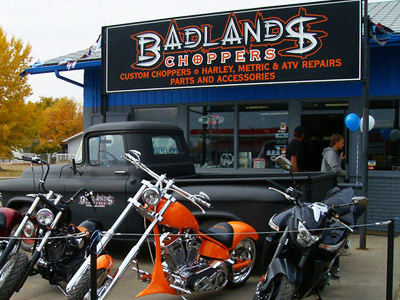 Badlands Choppers | Drumheller